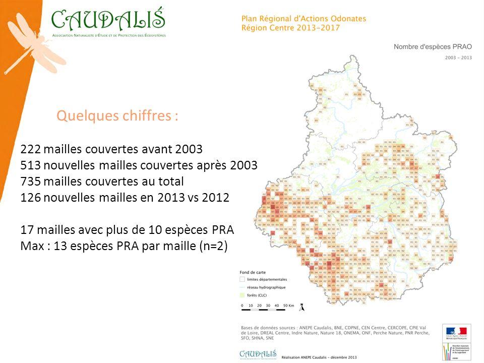 Actualisation de la répartition des Odonates de priorité 1 et 2a en région Centre : Coenagrion ornatum © J.P.