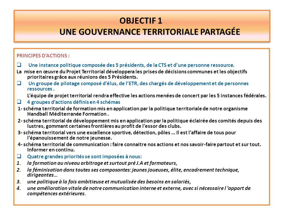 OBJECTIF 2 UNE POLITIQUE AU SERVICE DES CLUBS NOS PRINCIPES DACTION : Impliquer toutes les commissions et mieux échanger leurs décisions et leurs informations.