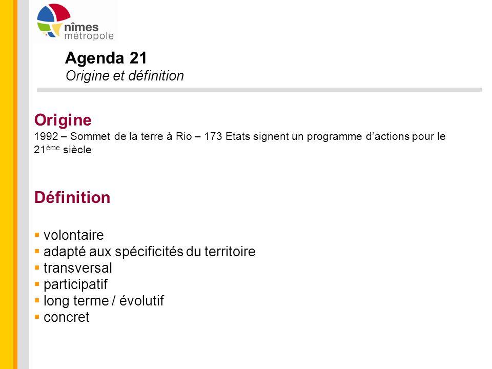 Agenda 21 Dynamique à tous les niveaux International (ICLEI - Local Governments for Sustainability) France 600 Agenda 21 Référentiel Reconnaissance du Ministère Observatoire Régional Comité Régional des A21 (DREAL/Région) Bientôt 100 Agenda 21