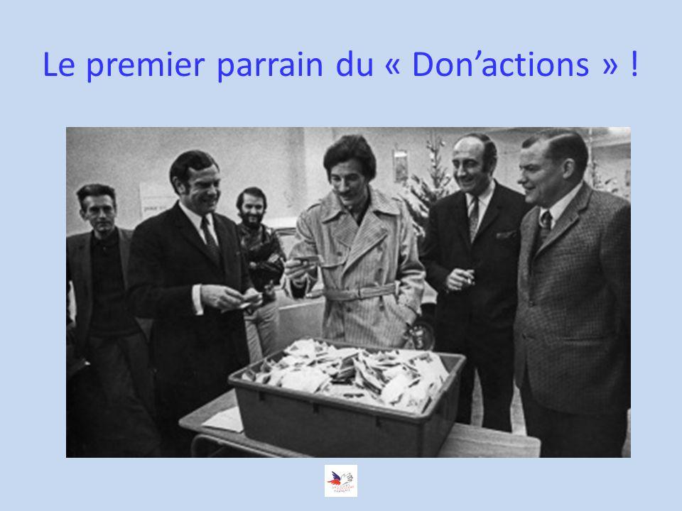 Le premier parrain du « Donactions » !