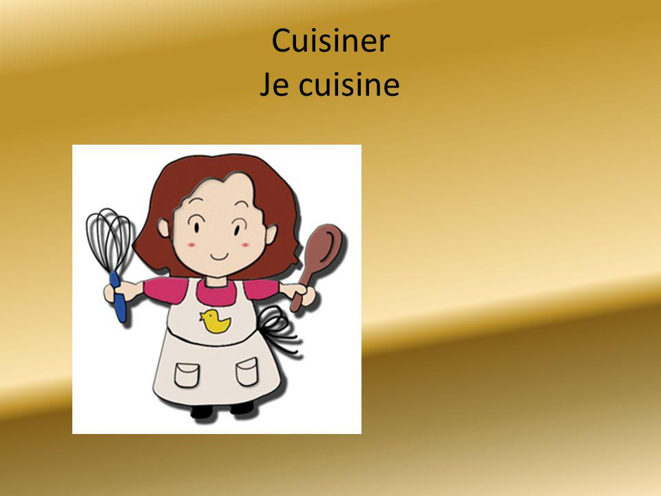 Cuisiner Je cuisine