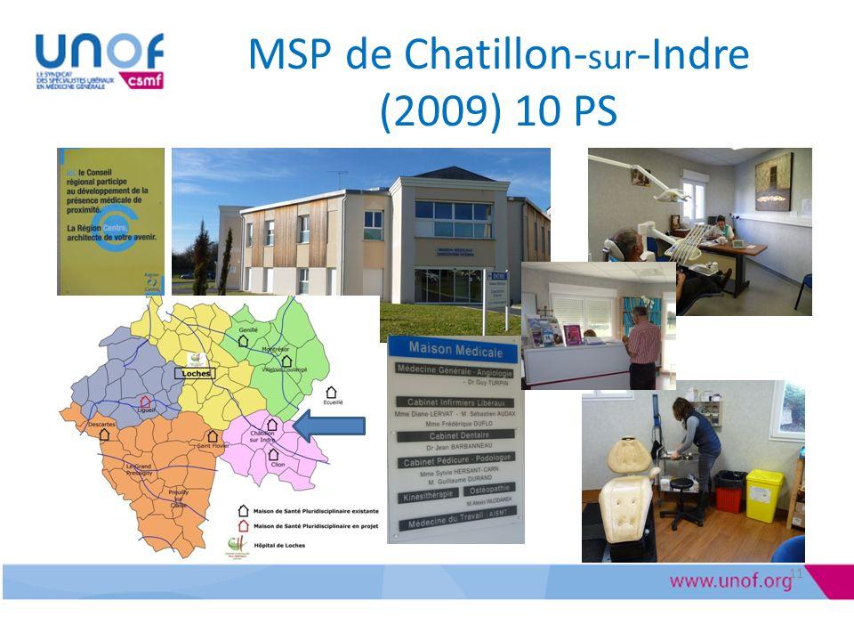 MSP de Chatillon- sur -Indre (2009) 10 PS 11
