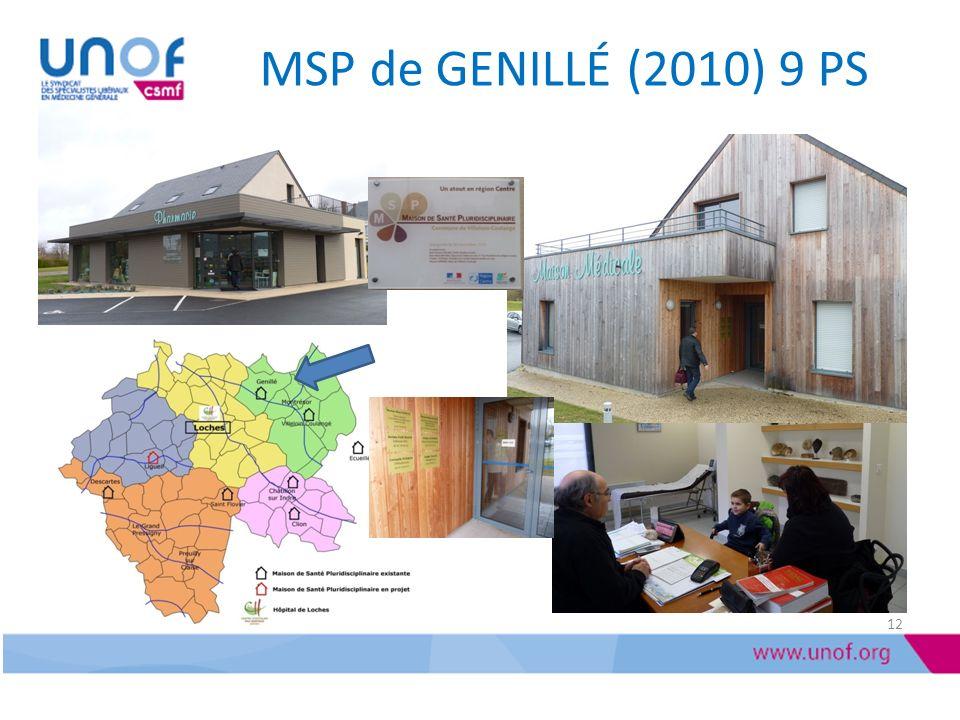 MSP de GENILLÉ (2010) 9 PS 12