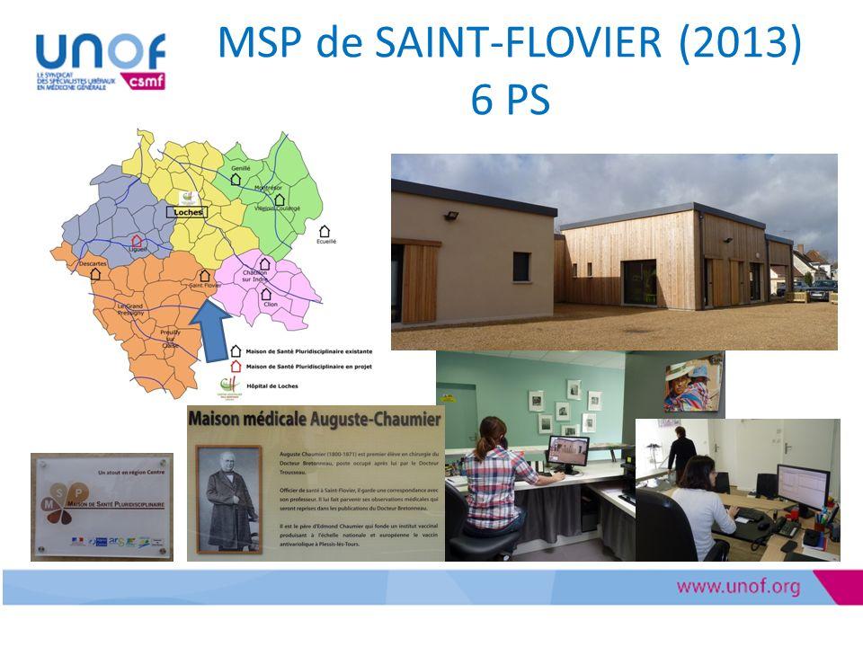 MSP de SAINT-FLOVIER (2013) 6 PS