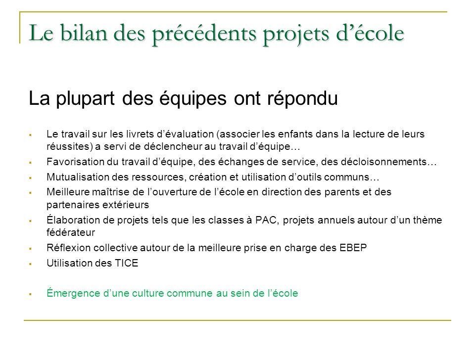 Le projet décole Réunion des directeurs Janvier 2014