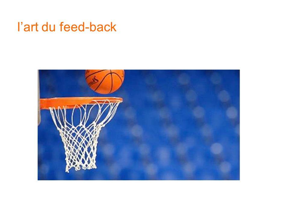lart du feed-back