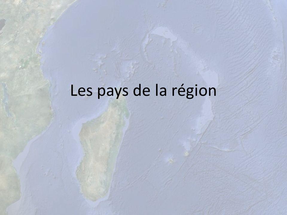 Les pays de la région