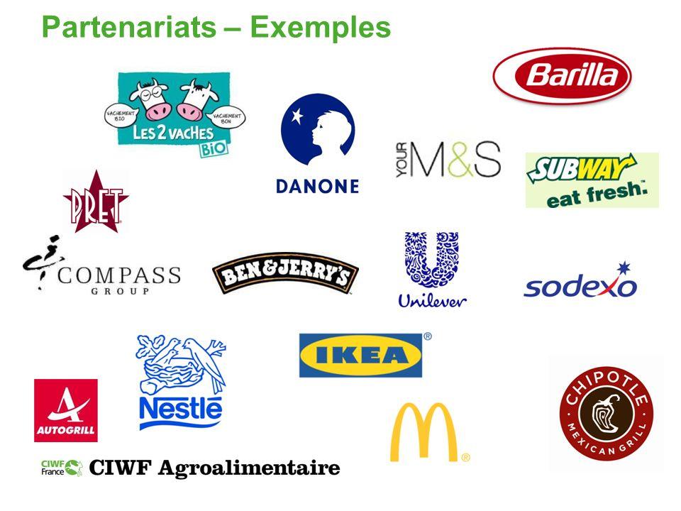 Partenariats – Exemples