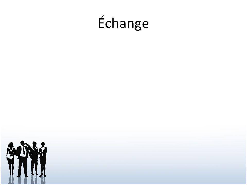 Échange