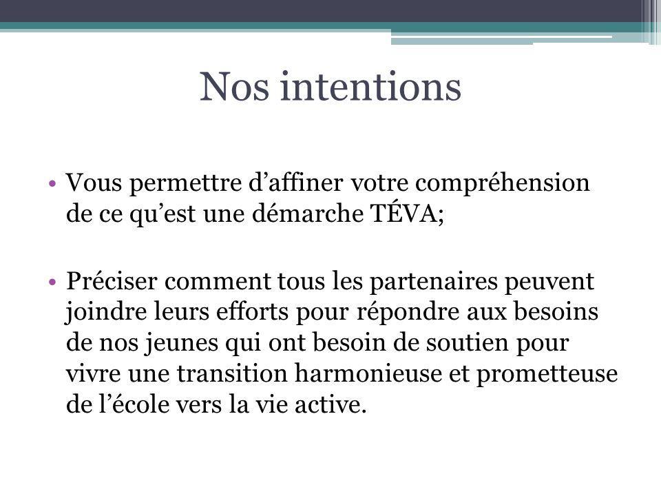 Plan de la présentation Mise en contexte Les grandes lignes de la TÉVA La TÉVA et le PSI Les CS et le RSSS, des partenaires essentiels Les facteurs de réussite Conclusion