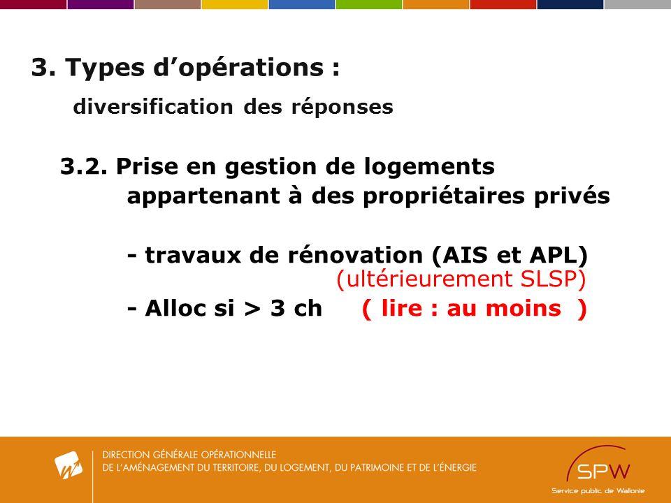3. Types dopérations : diversification des réponses 3.2.