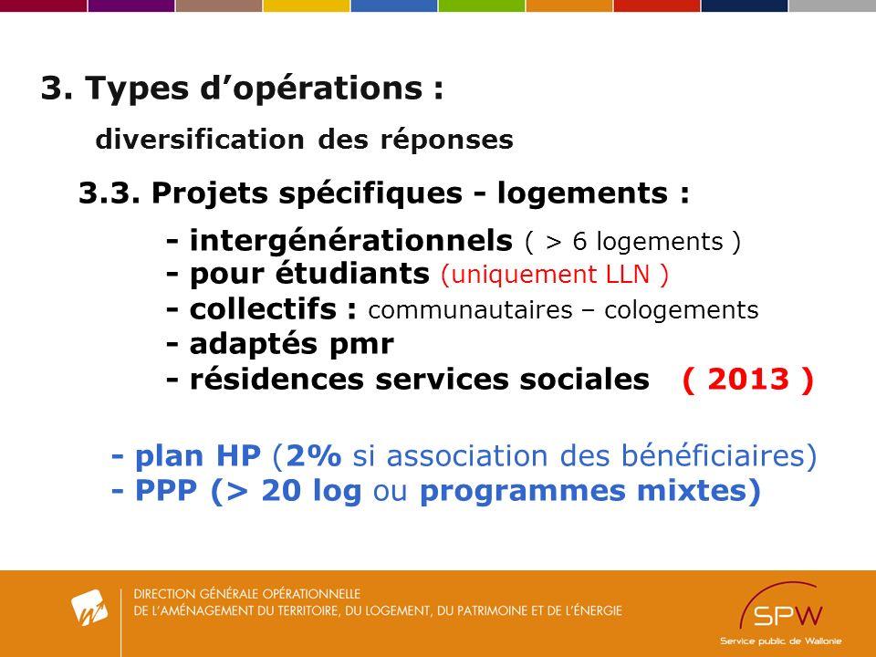 3. Types dopérations : diversification des réponses 3.3.