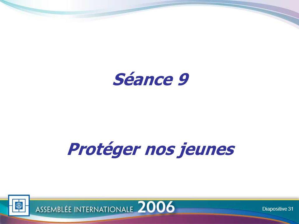 Slide Séance 9 Protéger nos jeunes Diapositive 31