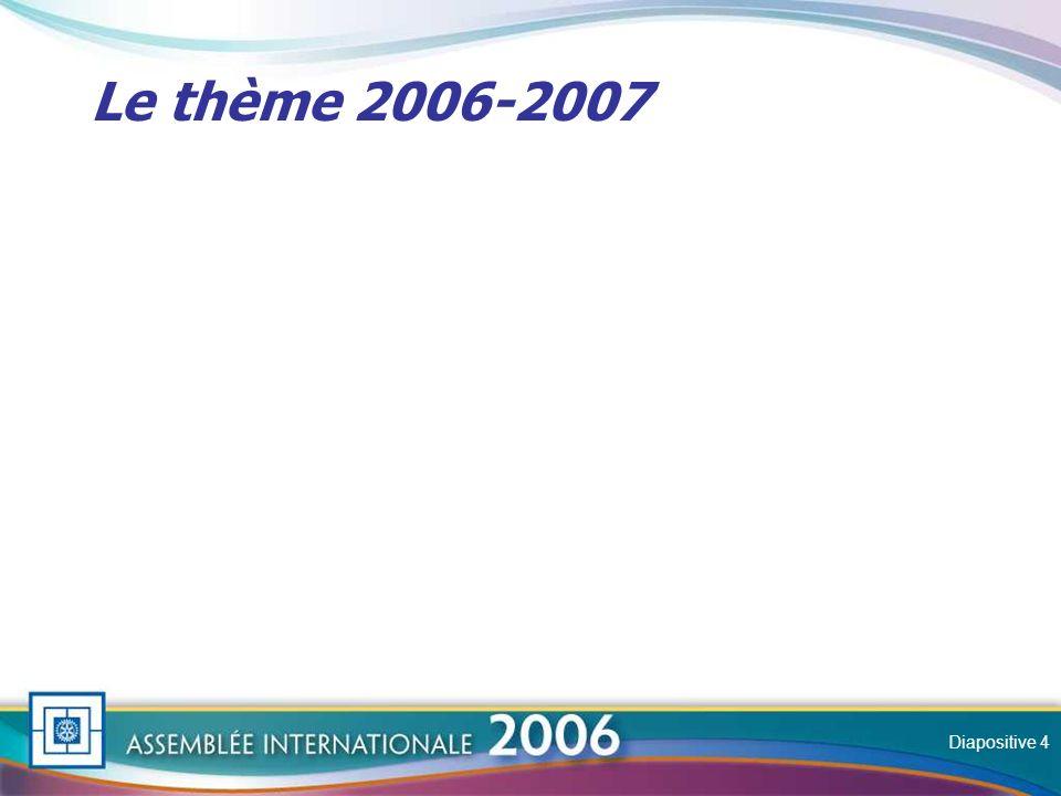 Slide Le thème 2006-2007 Diapositive 4