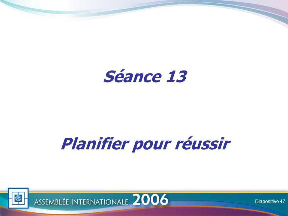 Slide Séance 13 Planifier pour réussir Diapositive 47