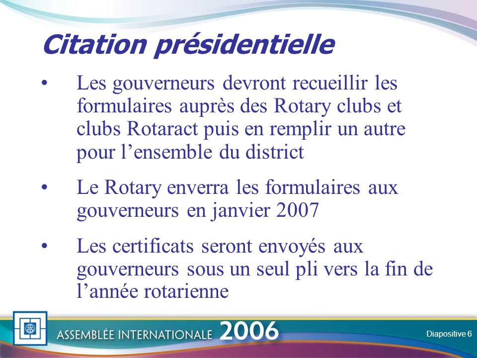 Slide Séances 2 et 3 Domaines prioritaires 2006-2007 Diapositive 7