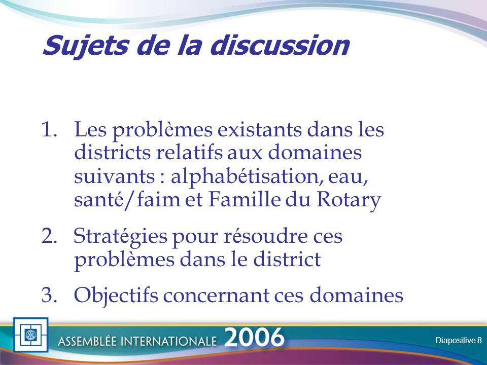 Slide Formation Permet de confirmer la valeur de l activit é des Rotariens.