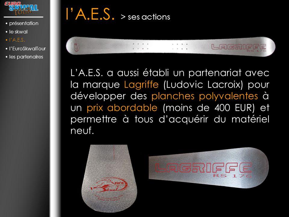 lA.E.S.> ses actions LA.E.S.