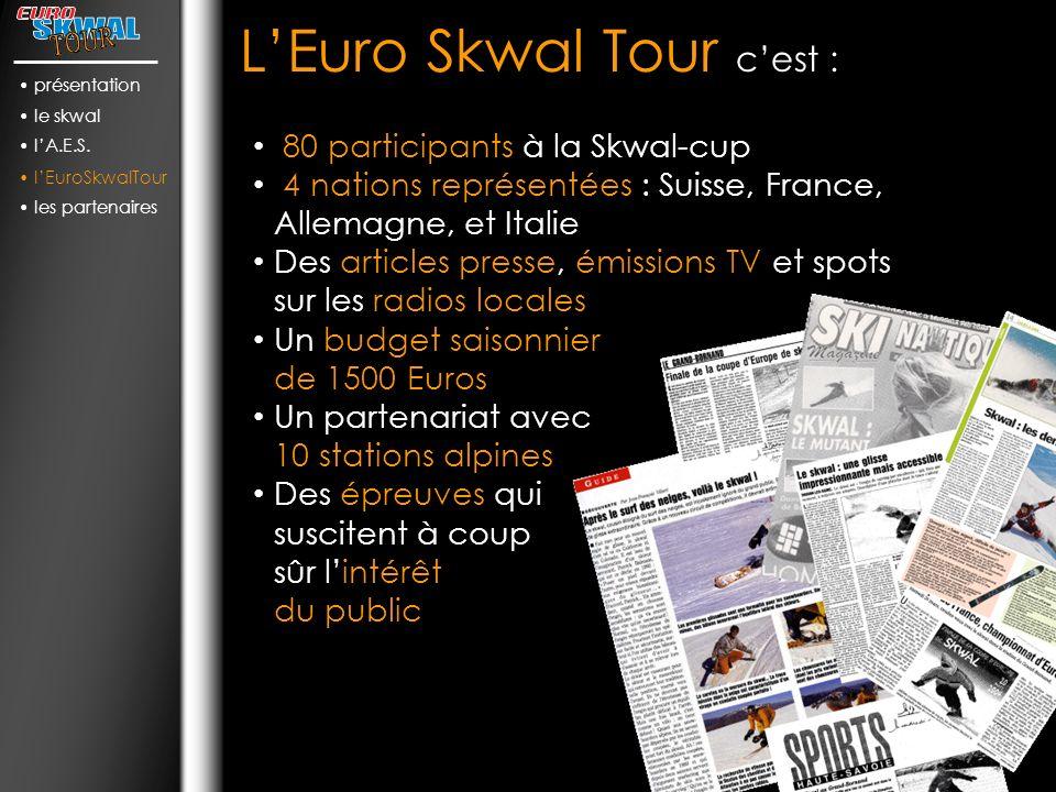 LEuro Skwal Tour cest : présentation le skwal lA.E.S.