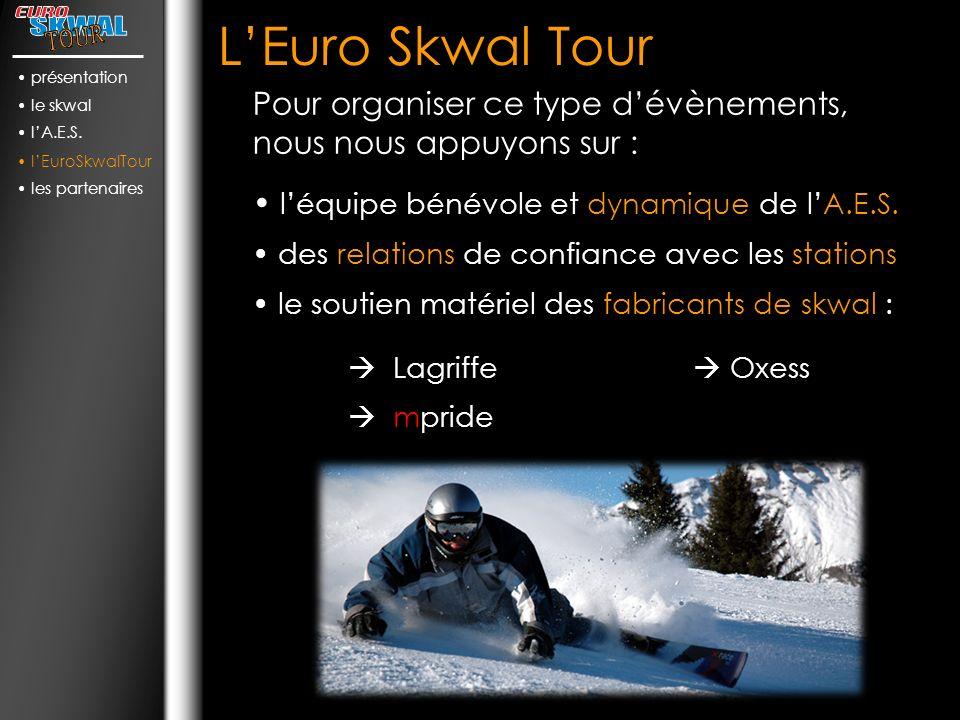 LEuro Skwal Tour léquipe bénévole et dynamique de lA.E.S.