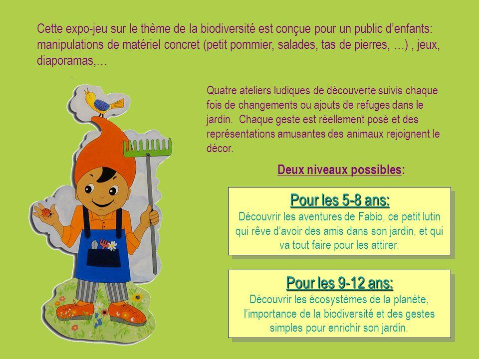 Pour les 5-8 ans: Découvrir les aventures de Fabio, ce petit lutin qui rêve davoir des amis dans son jardin, et qui va tout faire pour les attirer. Po