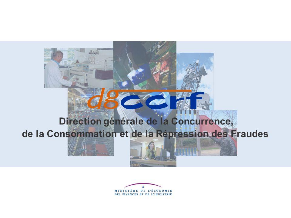 Direction générale de la Concurrence, de la Consommation et de la Répression des Fraudes