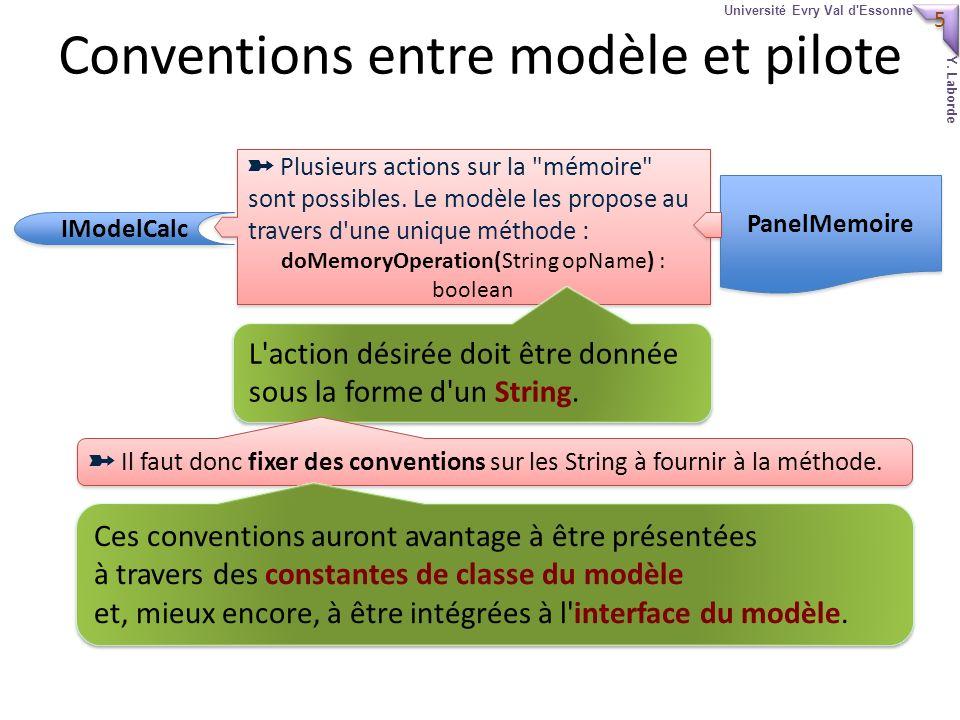 5 5 Université Evry Val d Essonne Y. Laborde Plusieurs actions sur la mémoire sont possibles.