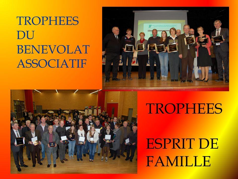 TROPHEES DU BENEVOLAT ASSOCIATIF TROPHEES ESPRIT DE FAMILLE