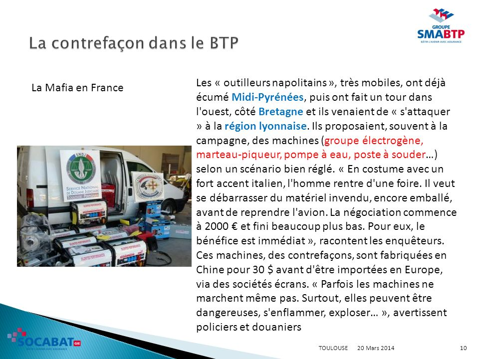 20 Mars 2014TOULOUSE11 Actualité Le MONITEUR.fr, Janvier 2013.
