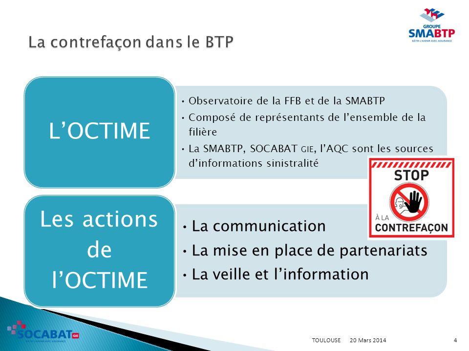 20 Mars 2014TOULOUSE5 www.octime.ffbatiment.fr