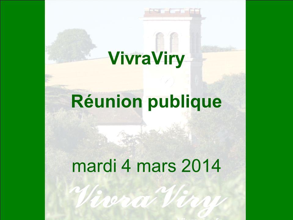 2 Rappel de notre fondement VivraViry Association pour un développement raisonné de lhabitat, respectueux de lenvironnement, du patrimoine et des impératifs sociaux et de sécurité.