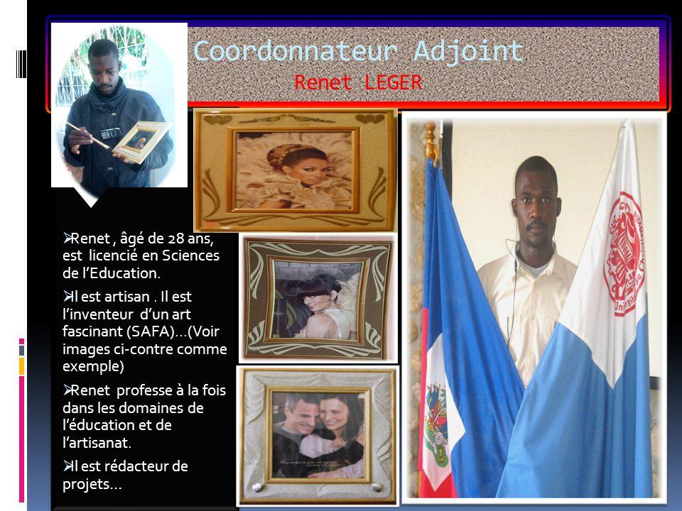 Coordonnateur Adjoint Renet LEGER