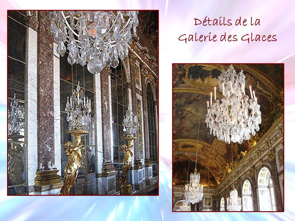 Miroirs de la Galerie des Glaces Détails de la Galerie des Glaces