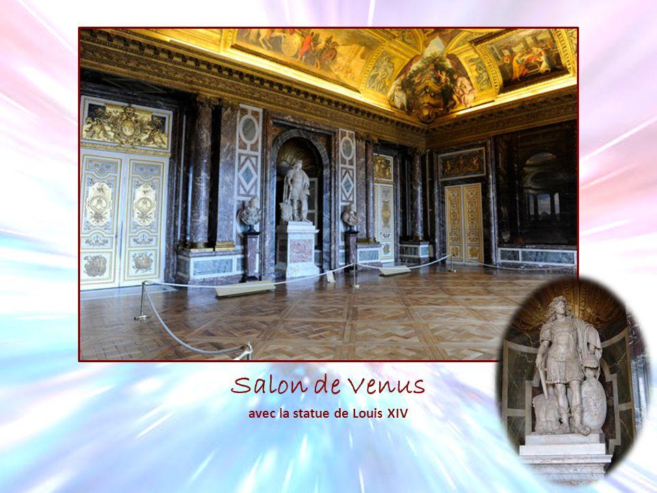 Salon de Venus avec la statue de Louis XIV