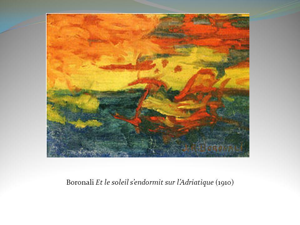Boronali Et le soleil sendormit sur lAdriatique (1910)