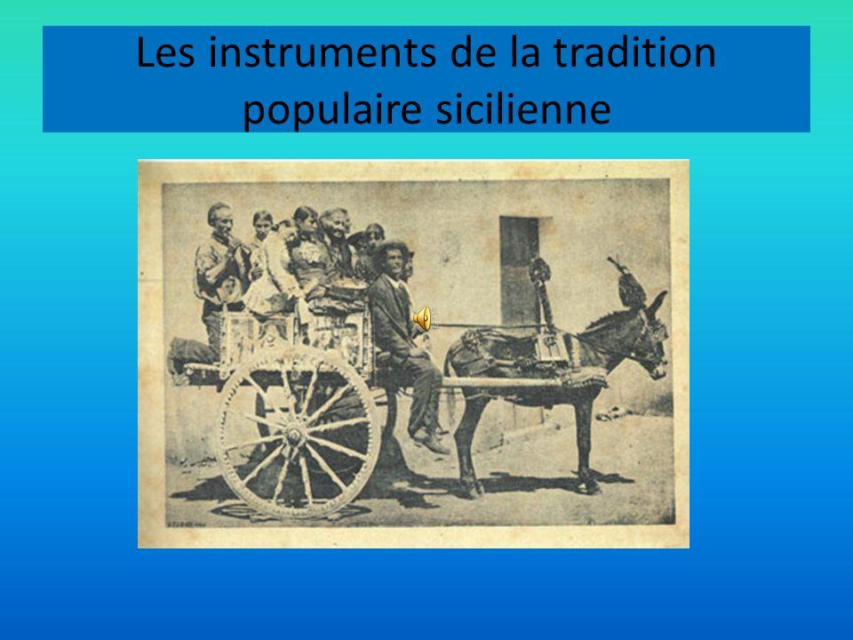 Les instruments de la tradition populaire sicilienne