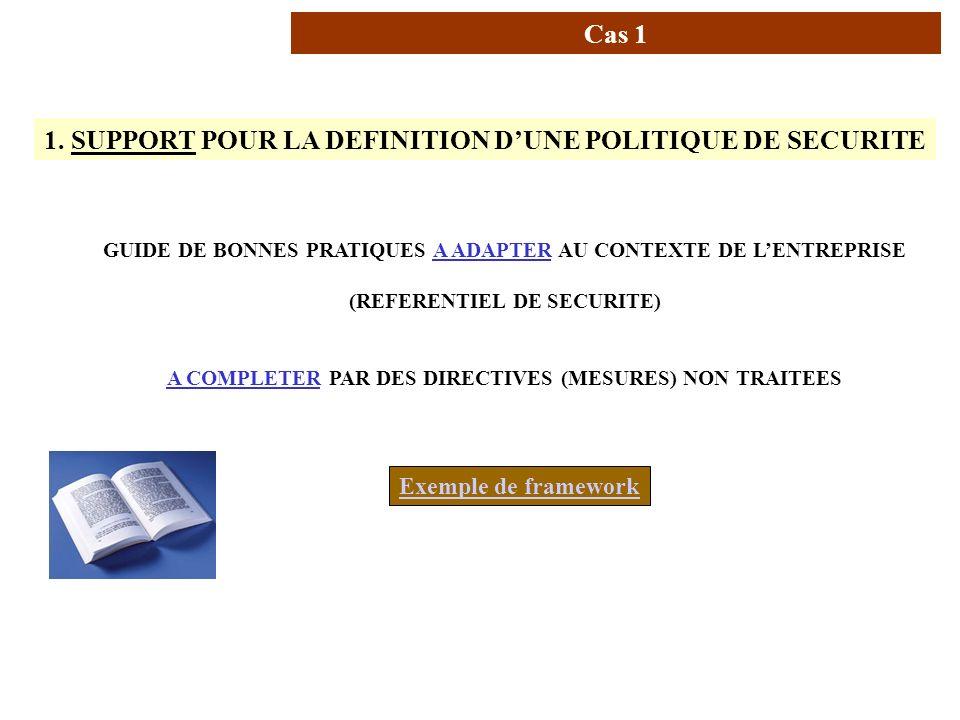 AVRIL 2005 Thierry RAMARD 14 Usage de la norme (1/4) 1. SUPPORT POUR LA DEFINITION DUNE POLITIQUE DE SECURITE GUIDE DE BONNES PRATIQUES A ADAPTER AU C