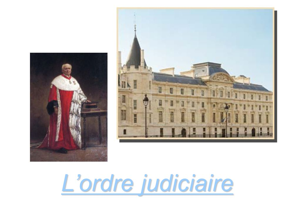 Lordre judiciaire