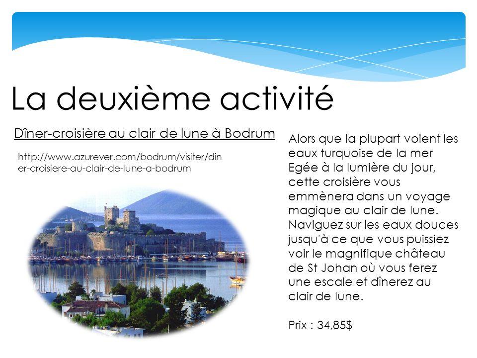 La première activité Parc aquatique de Dedeman, Bodrum http://www.azurever.com/bodrum/visiter/parc-aquatique-de- dedeman-bodrum Cest lune des attractions les plus populaires de Bodrum.