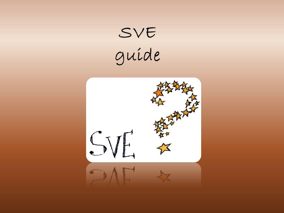 SVE : service volontaire européen.Pour qui.
