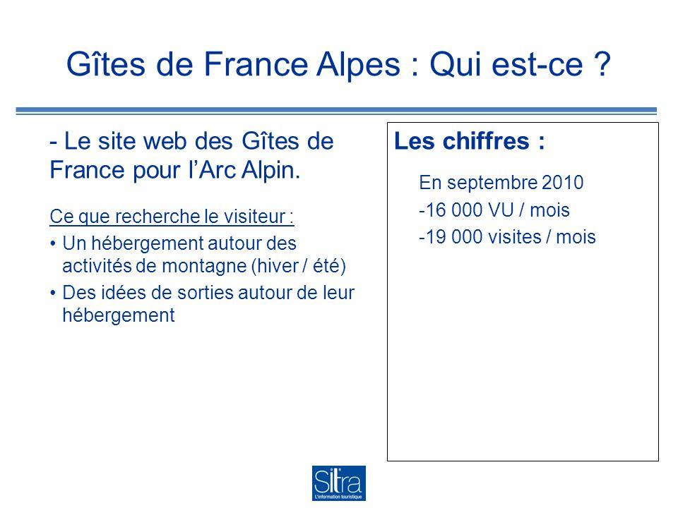 Gîtes de France Alpes : Qui est-ce . - Le site web des Gîtes de France pour lArc Alpin.