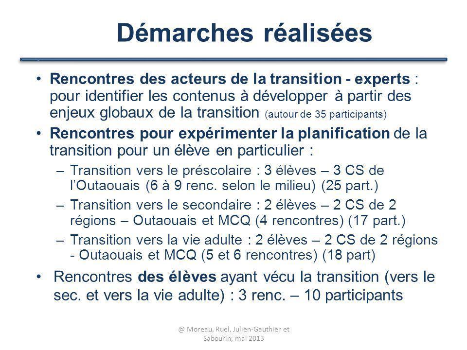 Rencontres des acteurs de la transition - experts : pour identifier les contenus à développer à partir des enjeux globaux de la transition (autour de