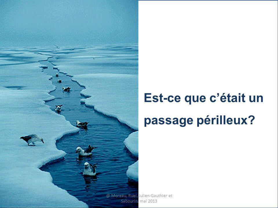 Est-ce que cétait un passage périlleux? @ Moreau, Ruel, Julien-Gauthier et Sabourin, mai 2013