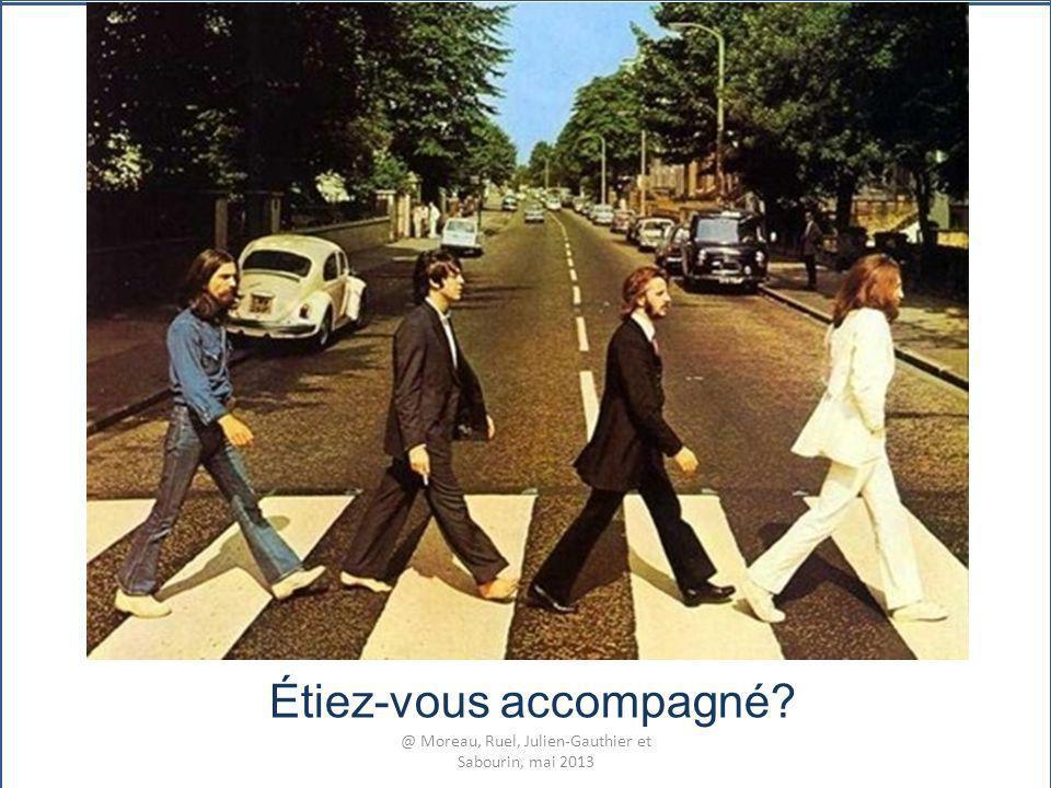 Étiez-vous accompagné? @ Moreau, Ruel, Julien-Gauthier et Sabourin, mai 2013