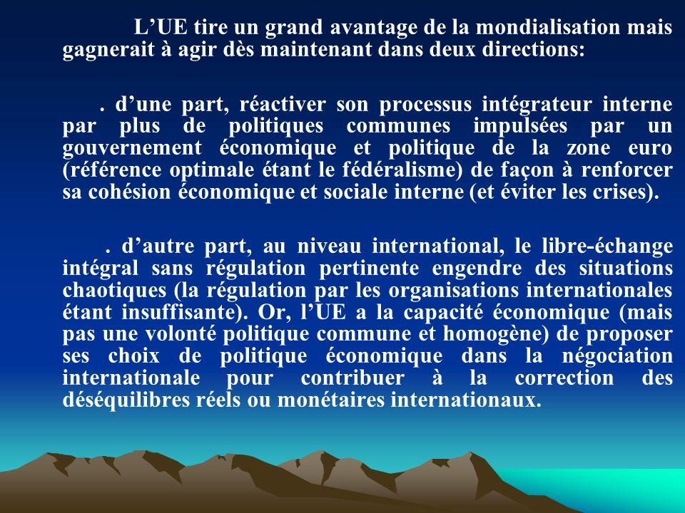 Le contexte international actuel nest donc pas favorable à de nombreux territoires parmi lesquels les pays ACP.