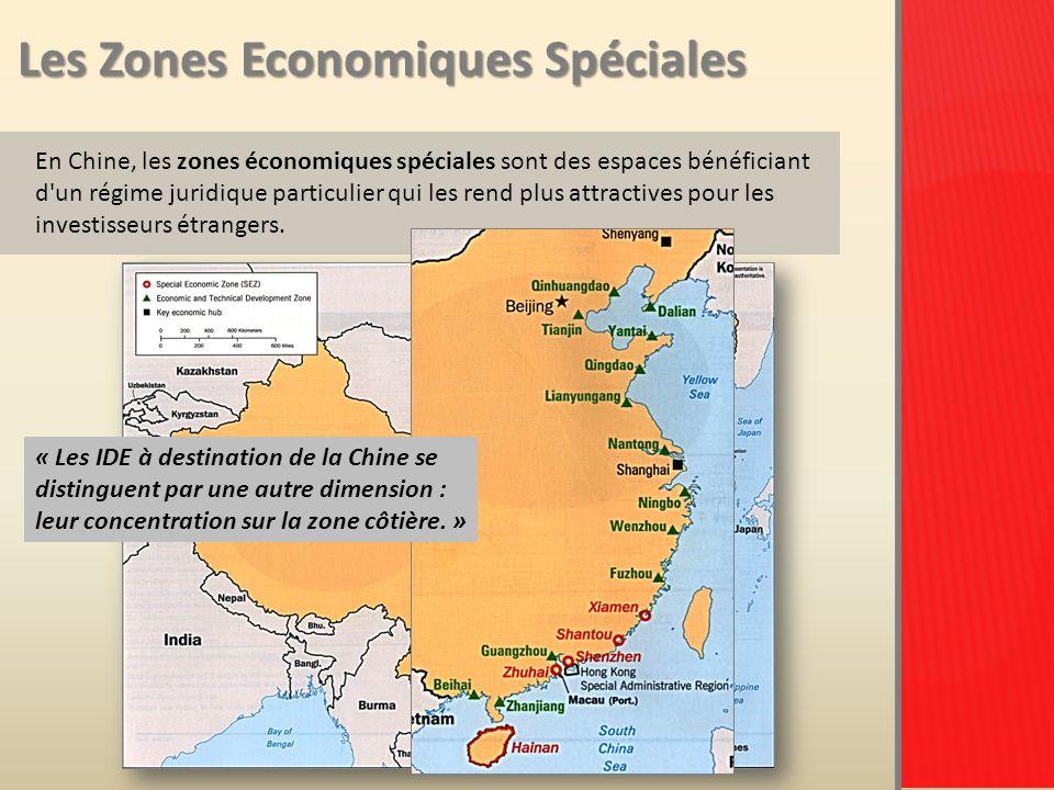 Les Zones Economiques Spéciales En Chine, les zones économiques spéciales sont des espaces bénéficiant d un régime juridique particulier qui les rend plus attractives pour les investisseurs étrangers.