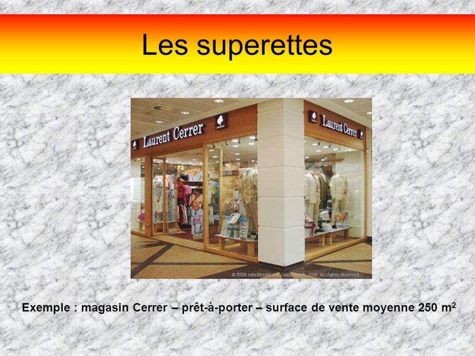 Question n°1 Le magasin Yves Rocher est un commerce ….