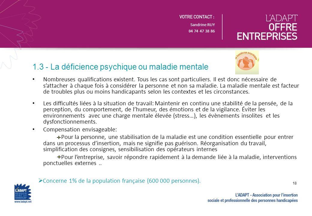 Sandrine RUY 04 74 47 38 86 Nombreuses qualifications existent. Tous les cas sont particuliers. Il est donc nécessaire de sattacher à chaque fois à co