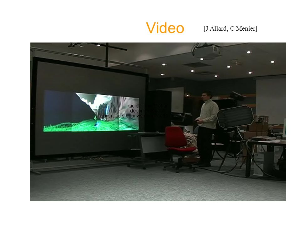 Video [J Allard, C Menier]