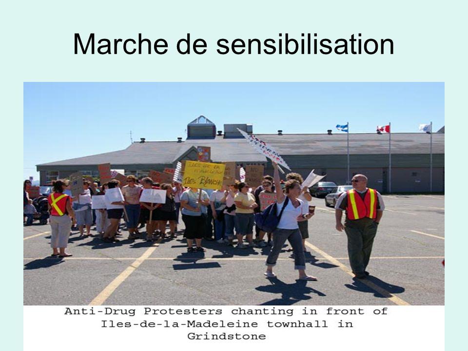 Marche de sensibilisation